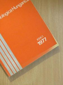 Endrődi S. - Folia Entomologica Hungarica 1977. [antikvár]