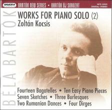 BARTÓK - WORKS FOR PIANO SOLO (2) SACD KOCSIS ZOLTÁN