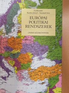 Barabás Balázs - Európai politikai rendszerek [antikvár]