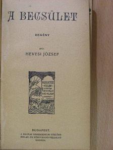 Hevesi József - A becsület [antikvár]