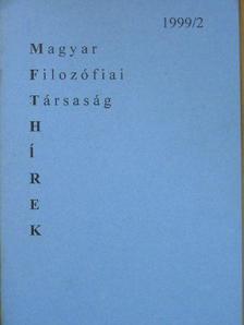 Boros János - MFT Hírek 1999/2 [antikvár]