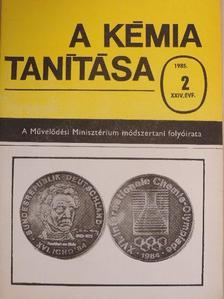 Baloghné Zábó Magdolna - A kémia tanítása 1985/2. [antikvár]