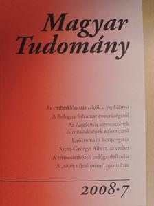 Bertók Lóránd - Magyar Tudomány 2008/7. [antikvár]