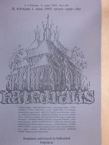 Wehner Tibor - Katedrális 1992. tavasz-nyár-ősz [antikvár]