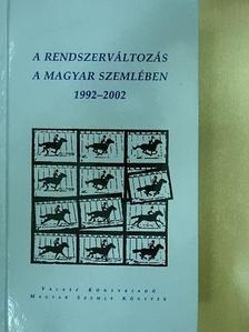 Ács Margit - A rendszerváltozás a Magyar Szemlében [antikvár]