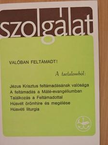 Cserháti József - Szolgálat 1986. Húsvét [antikvár]