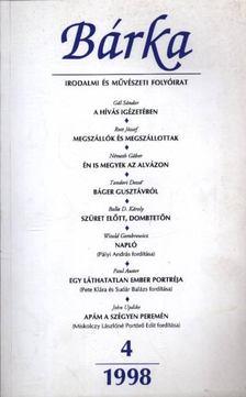 Kántor Zsolt - Bárka 1998/4 [antikvár]