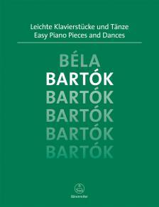 BARTÓK - LEICHTE KLAVIERSTÜCKE UND TAENZE (M.TÖPEL / A.TÖPEL)