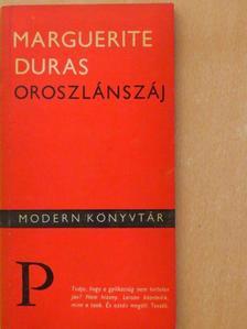 Marguerite Duras - Oroszlánszáj [antikvár]