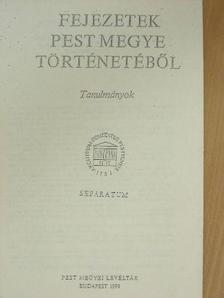 Borosy András - Pest-Pilis-Solt vármegye közigazgatásának szervezeti és területbeosztási változásai 1848-1867 között [antikvár]