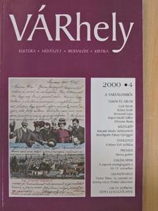 Bóka László - VÁRhely 2000. december [antikvár]