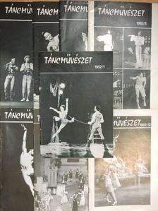 Á. Kovács Sándor - Táncművészet 1982. (nem teljes évfolyam) [antikvár]
