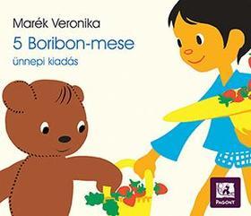 MARÉK VERONIKA - 5 kötetes Boribon jubileumi kiadás