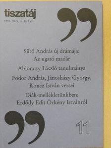 Ablonczy László - Tiszatáj 1993. november [antikvár]