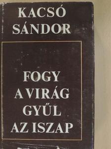 Kacsó Sándor - Fogy a virág gyűl az iszap [antikvár]