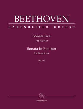 BEETHOVEN - SONATE IN e FÜR KLAVIER OP.90 (J. DEL MAR)