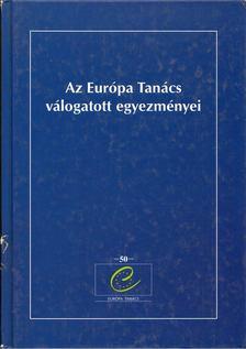 Mesenkó-Mavi Viktor - Az Európa Tanács válogatott egyezményei [antikvár]