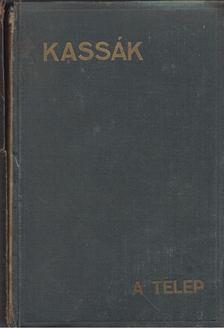 Kassák Lajos - A telep [antikvár]