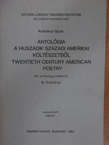 Gertrude Stein - Antológia a huszadik századi amerikai költészetből [antikvár]