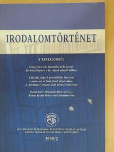 Bartal Mária - Irodalomtörténet 2009/2. [antikvár]