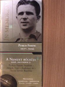 Dr. Schmitt Pál - In memoriam Puskás Ferenc [antikvár]
