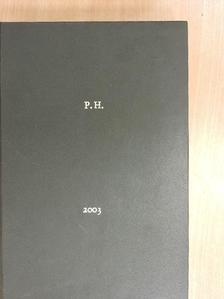 Herold Róbert - Psychiatria Hungarica 2003/1-6. [antikvár]