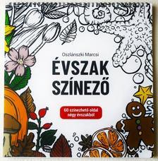Oszlánszki Marcsi - Évszak színező