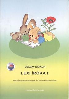 Csabay Katalin - LEXI ÍRÓKA I. - 98572/F/I.