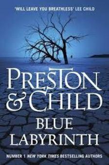 Douglas Preston - Lincoln Child - Blue Labyrinth [antikvár]