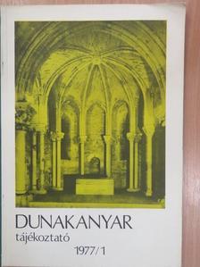 Bakó Zsuzsanna - Dunakanyar tájékoztató 1977. [antikvár]