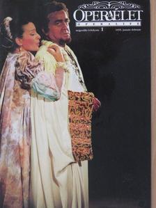 Csák P. Judit - Operaélet 1995. január-február [antikvár]