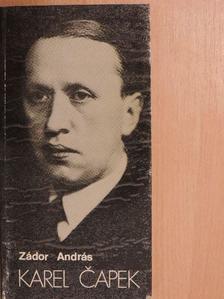 Zádor András - Karel Capek [antikvár]
