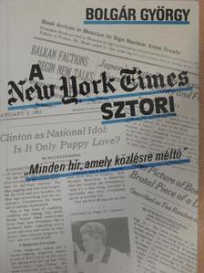 Bolgár György - A New York Times-sztori [antikvár]