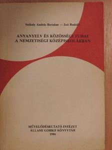 Joó Rudolf - Anyanyelv és közösségi tudat a nemzetiségi középiskolákban [antikvár]
