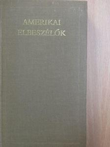 B. Nagy László - Amerikai elbeszélők I. (töredék) [antikvár]