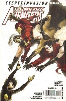 Bendis, Brian Michael, Cheung, Jim, Weeks, Lee, Pagulayan, Carlo - The Mighty Avengers No. 20 [antikvár]
