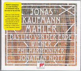 MAHLER - DAS LIED VON DER ERDE CD JONAS KAUFMANN