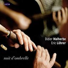 NUIT D'OMBRELLE 2CD DIDIER MALHERBE, ÉRIC LÖHRER