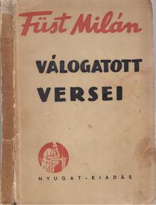 FÜST MILÁN - Füst Milán válogatott versei [antikvár]