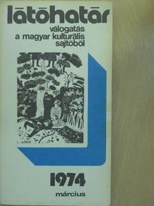 Baka István - Látóhatár 1974. március [antikvár]