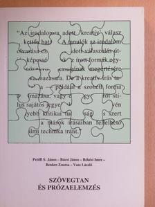 Bácsi János - Szövegtan és prózaelemzés [antikvár]