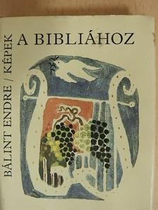 Bálint Endre - Képek a Bibliához (minikönyv) [antikvár]