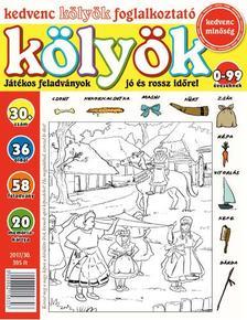 CSOSCH KIADÓ - Kedvenc Kölyök Foglalkoztató 30.
