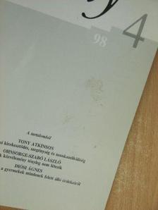 Ágostonné Alpár Vera - Esély 1998/4 [antikvár]