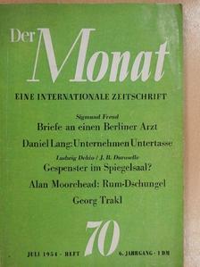 Alan Moorehead - Der Monat Juli 1954. Heft 70, 6. jahrgang [antikvár]