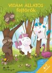 Korsós Szabina - Vidám állatos fejtörők 4-7 éveseknek