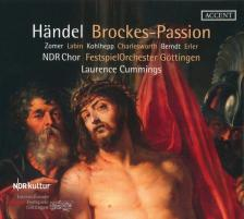 HAENDEL - BROCKES-PASSION 2CD CUMMINGS