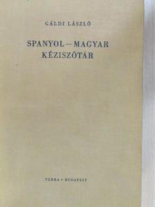 Gáldi László - Spanyol-magyar kéziszótár [antikvár]
