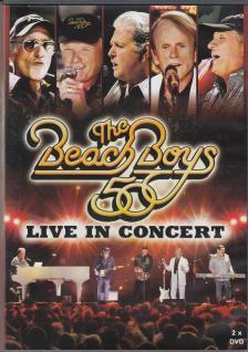 50 LIVE IN CONCERT DVD BEACH BOYS