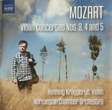 MOZART - VIOLIN CONCERTOS 3,4 AND 5 CD